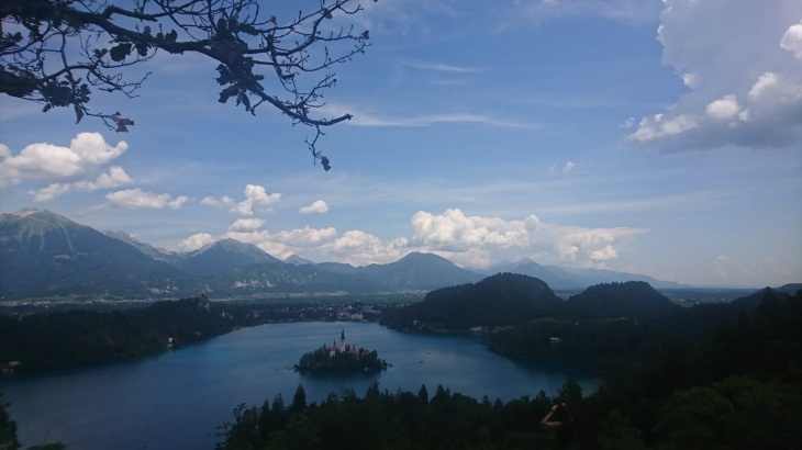bled from lookout point